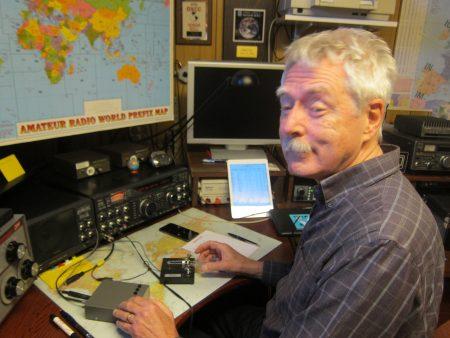 Eric SM6JSM aktiv i SL-testen med anropssignalen SL6AL